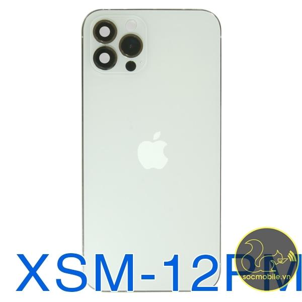 Khung Sườn - Vỏ Độ iPhone Xsm Lên 12 Promax