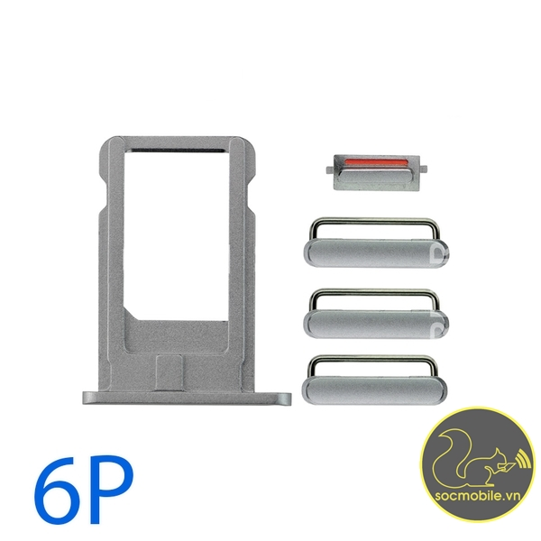 Bộ Phím Bấm - Khay Sim iPhone 6 Plus