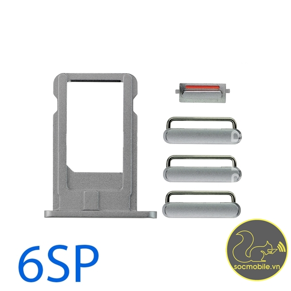 Bộ Phím Bấm - Khay Sim iPhone 6S Plus