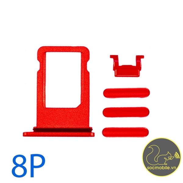 Bộ Phím Bấm - Khay Sim iPhone 8 Plus