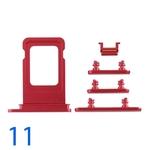Bộ Phím Bấm - Khay Sim iPhone 11