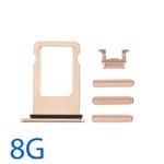 Bộ Phím Bấm - Khay Sim iPhone 8G
