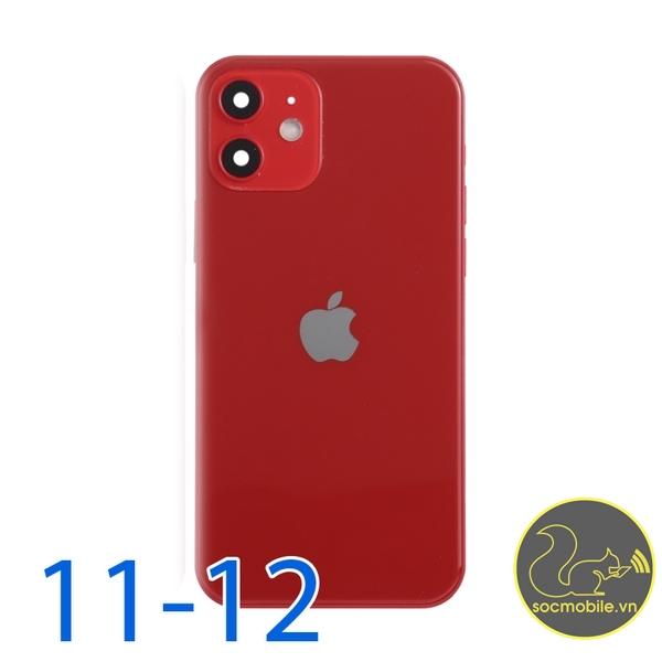 Khung Sườn - Vỏ Độ iPhone 11 Lên 12