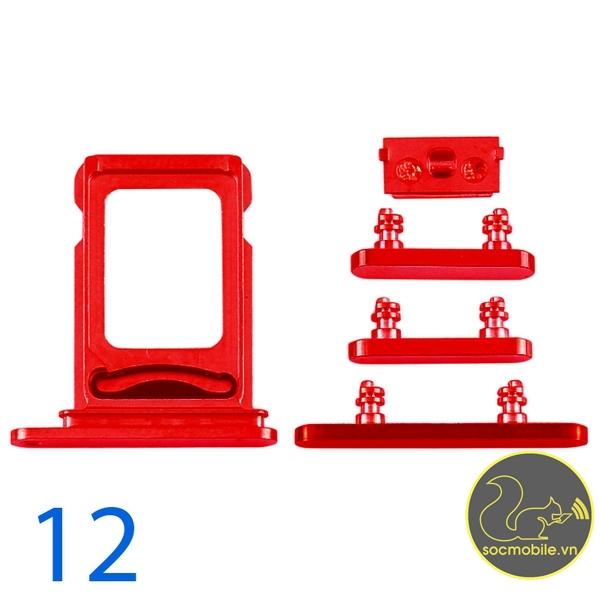 Bộ Phím Bấm - Khay Sim iPhone 12