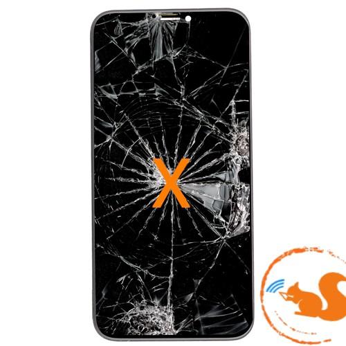Thay, Ép Mặt Kính iPhone X