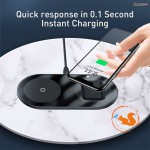 Dock sạc không dây baseus simple 2in1 wireless charger